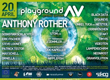 Image for: LPM 2013 Trimmelkam | Playground AV – Anthony Rother